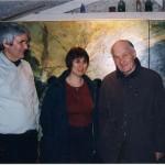 Comédien Michel Bouquet à l'atelier