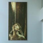 Sogelym steiner: Quête de lumière (femme) (150cm x 300cm) photo 02
