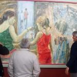 """""""Liberté Egalité Fraternité"""" (huile sur bois) ( 300cm x 150cm )"""